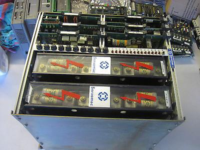 100 Warranty Servomac 12a55 Drive 2 Dual P-3a55 A55 Power Unit 6 Cards