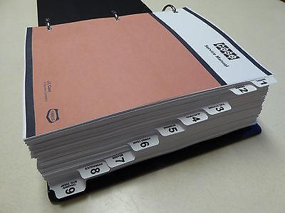 CASE 580K (PHASE 1) Loader Backhoe Service Manual Repair Shop Book NEW w/Binder