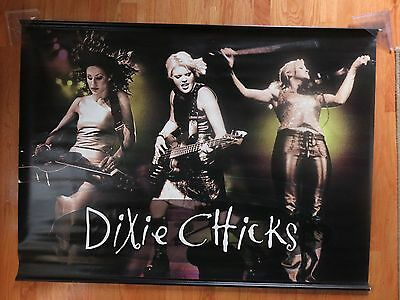 "1999 DIXIE CHICKS Promotional Concert Tour Double-Sided 48"" x 36"" Nylon Banner"