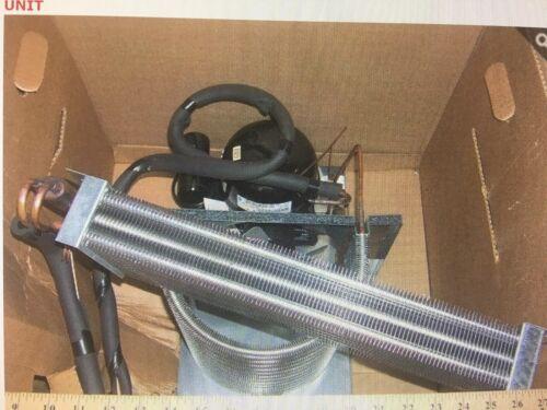 Cooler Refrigeration System Complete, 1/3 HP, Royal Vendor, GII Vendor 390 & 462
