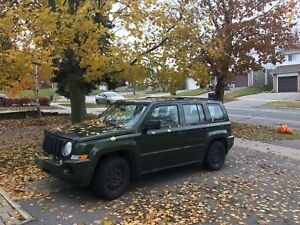 2007 Jeep Patriot 4x4 - As Is