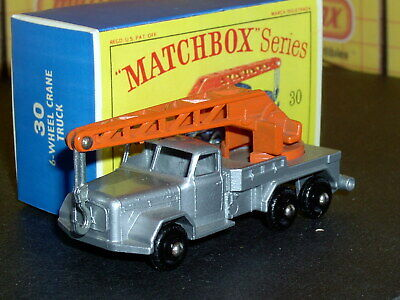 Matchbox Lesney Magirus-Deutz 6 Wheel Crane 30 b8 24BPW SC14 VNM crafted box