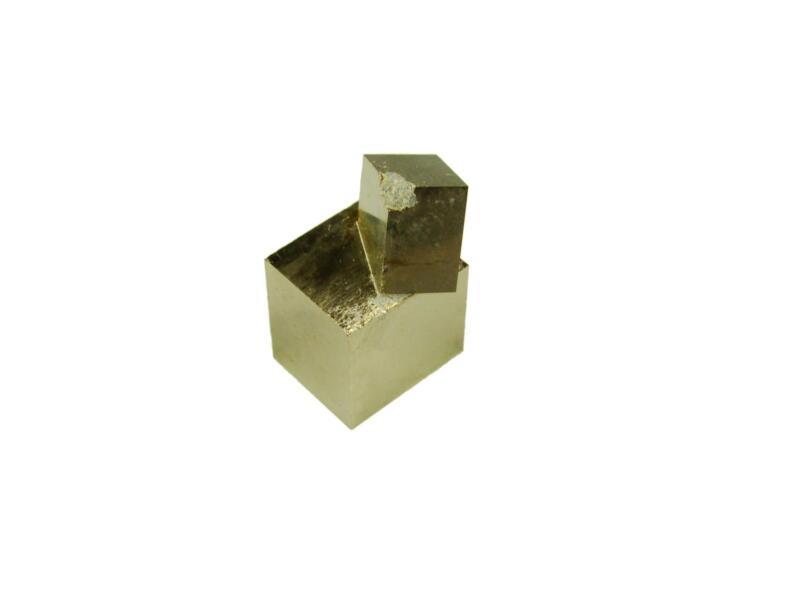 Navajun Spain Mine - Pyrite Cube Crystal With Display Case-#PC27
