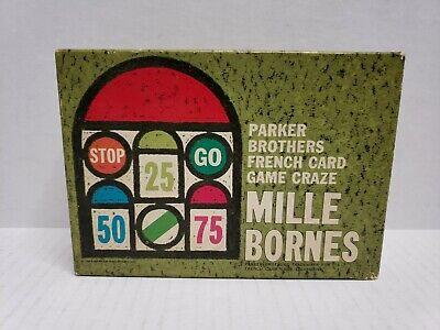 Parker Brothers Mille Bornes (Vintage Parker Brothers Mille Bornes Card Game Complete 1964 HTF)