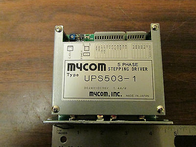 Mycom 5 Phase Stepping Driver For Vexta Type Stepper Motor Ups503-1