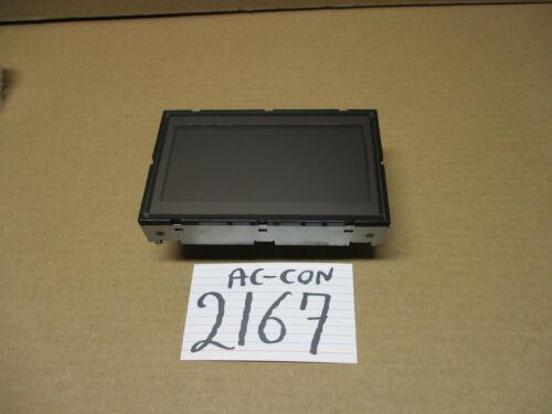 2006 Nissan Maxima Used Radio Info Display Screen #2167-AC