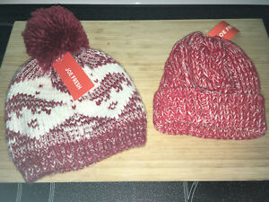 Never worn winter hats