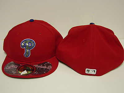 NEW Mens New Era Stars & Stripes Phillies 59FIFTY MLB Baseball Fitted Hat Cap