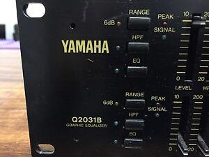 Yamaha Q 2031B Graphic Equalizer Carrara Gold Coast City Preview