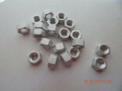 Aluminum Hex Nuts 38-16 25 Pcs. New