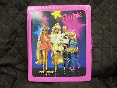 1993 Hollywood Hair Barbie doll carrying case