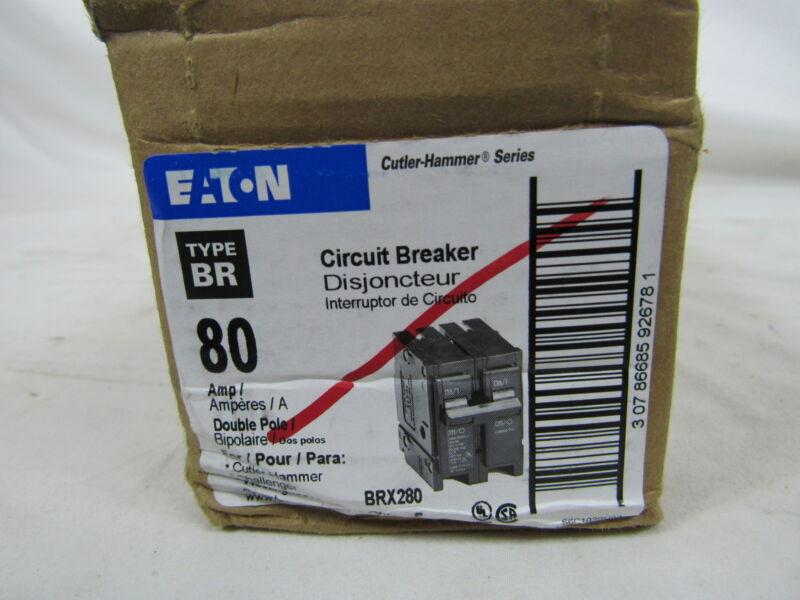 Eaton NSB BRX280 MCB BR 2P 80A 120/240VAC (1 Breaker)