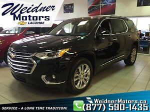 2019 Chevrolet Traverse *Leather Interior, Sunroof, GPS/NAV*
