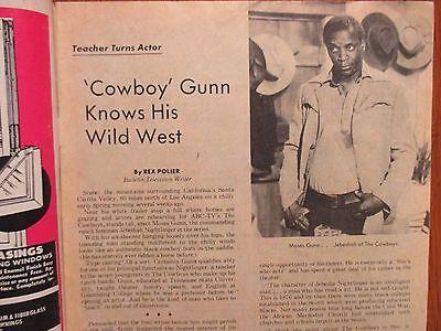 1974 Philadelphia Sun. Bulletin TV Time(MOSES  GUNN/LITTLE HOUSE ON THE PRAIRIE) - Sun Bulletin