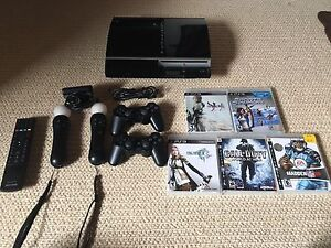 PS3 with PlayStation Move Accessories
