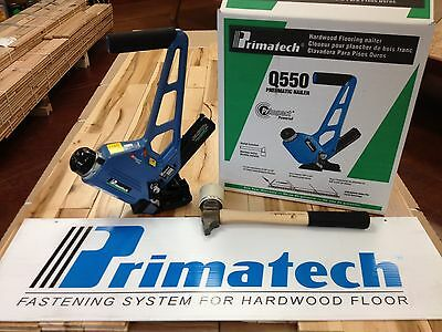 NEW! Primatech Q550L Pneumatic Adjustable Flooring Nailer ...