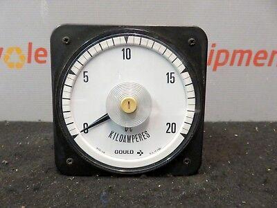 Crompton Gould 077-110 Kilovolt 0-20 Voltmeter Volt Meter