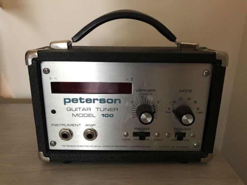 Peterson Guitar Tuner Model 100