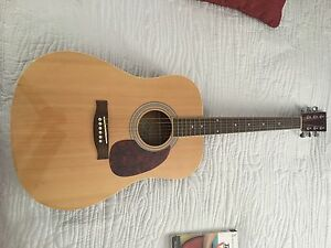 Burswood jw-41f acoustic guitar