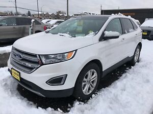 2017 Ford Edge SEL, Navigation, Leather, Panoramic Sunroof, AWD