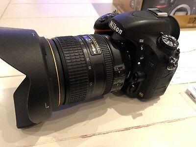 Nikon D D750 24.3MP Digitalkamera - Schwarz (Kit mit AF-S VR 24-120mm Objektiv)