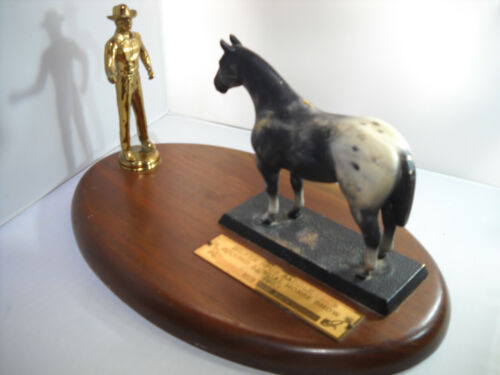 """Award from the """"Silver Spur Saddle Club Second Annual Horse Show 1963"""
