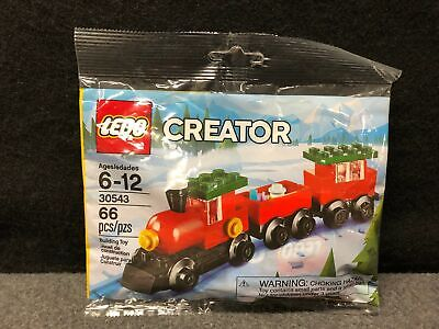 LEGO CREATOR 30543 HOLIDAY CHRISTMAS TRAIN NEW POLYBAG SET