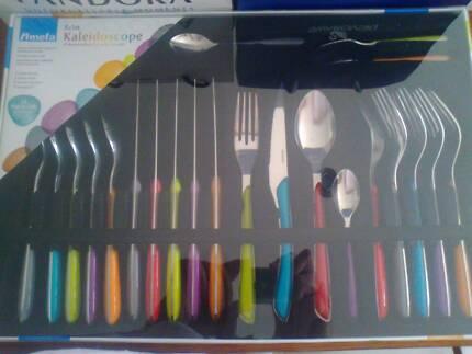 Coloured Cutlery Set - Kaleidoscope
