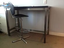 Bench style desk FREEDOM with high stool Docklands Melbourne City Preview