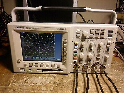 Tektronix Tds3054 500mhz 4 Channel Oscilloscope Dso. Tds3trg Tds3fft New Ps