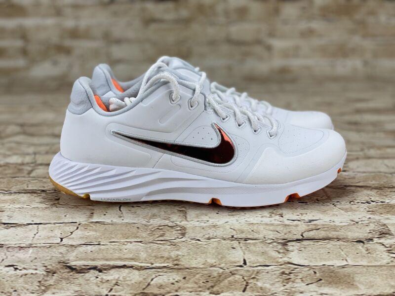 Nike Womens Alpha Huarache Elite 2 Turf Trainers Softball Shoes CJ9988-102