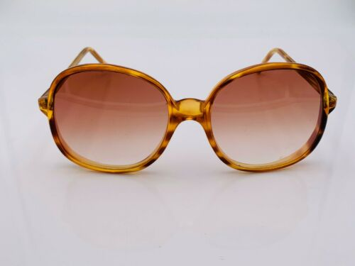 Vintage EB Tortoise Oversized Oval Sunglasses Canada Frames