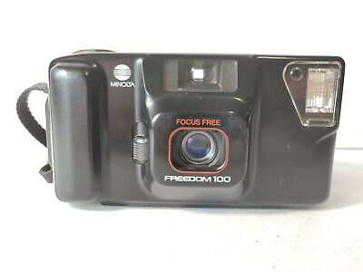 Minolta Freedom 100 Point and Shoot Film Camera (Tested)