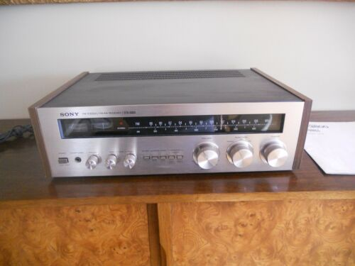 Mid century Sony receiver stereo ST 3800 vintage audiphile works great!
