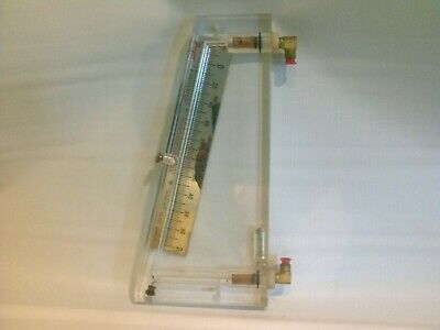 Dwyer 252 Inclined Manometer Air Filter Gauge