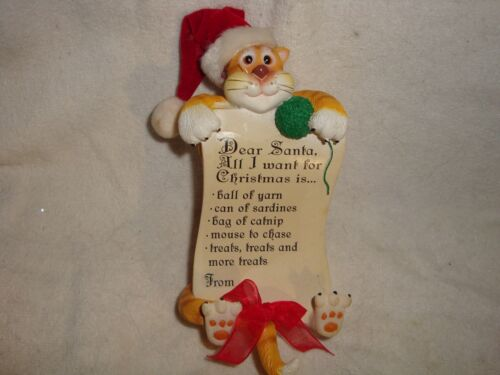 Christmas Cat with list 005