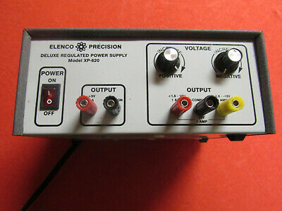 Elenco Precision Deluxe Regulated Power Supply Model Xp-620 - Working