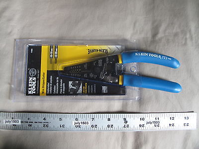 1 New Klein Tools Wire Stripper Cutter Curved Handles 11055 Made In Usa