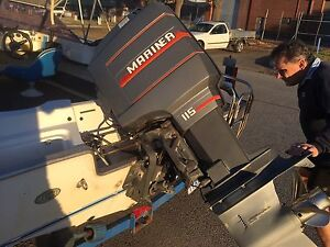 115hp mariner outboard Bayswater Bayswater Area Preview