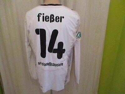 SV Sandhausen Puma Langarm Matchworn Trikot 2008/09