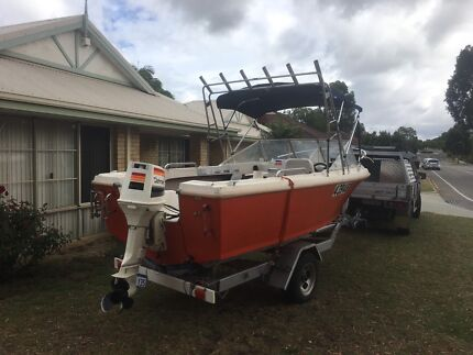 70hp runabout boat
