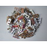 Wholesale lot of 50 Pairs of Assorted Stud Earrings New