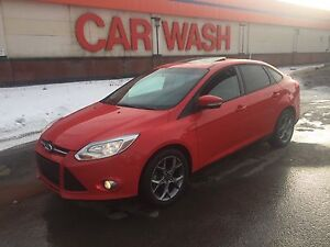 2013 Ford Focus SE, Only  47km, Leather, Sunroof,  $8,900 OBO