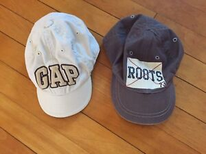 Roots 6-12 months and Gap XS hats