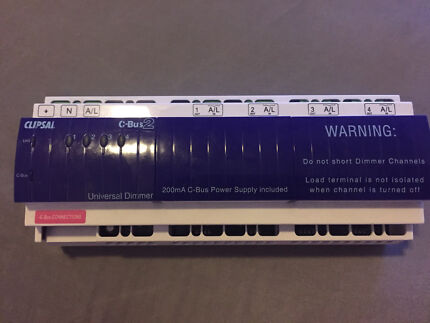 Clipsal C-Bus 2 - 4 Channel Universal Dimmer