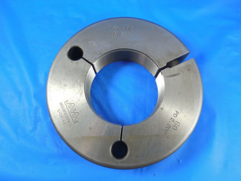 1 5/8 16 USF THREAD RING GAGE 1.625 U.S.F. MACHINE SHOP INSPECTION TOOLING