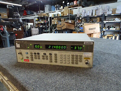 Hp Agilent Keysight 8656b Signal Generator 0.1 - 990 Mhz Free Shipping