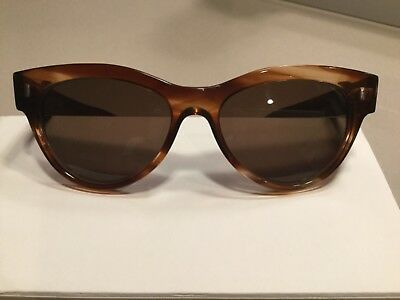CUTLER AND GROSS OF LONDON BROWN HANDMADE TORTOISE SUNGLASSES MODEL 0930 53 (Shades Of Brown Models)