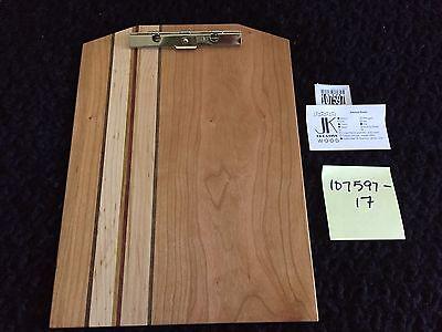 New Exotic Wood Clip Board Walnut Cherry Maple Elm Purple Heart 107597-17