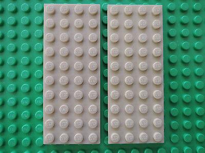 LEGO 2 X PLATTE 3030 BEIGE TAN 4X10